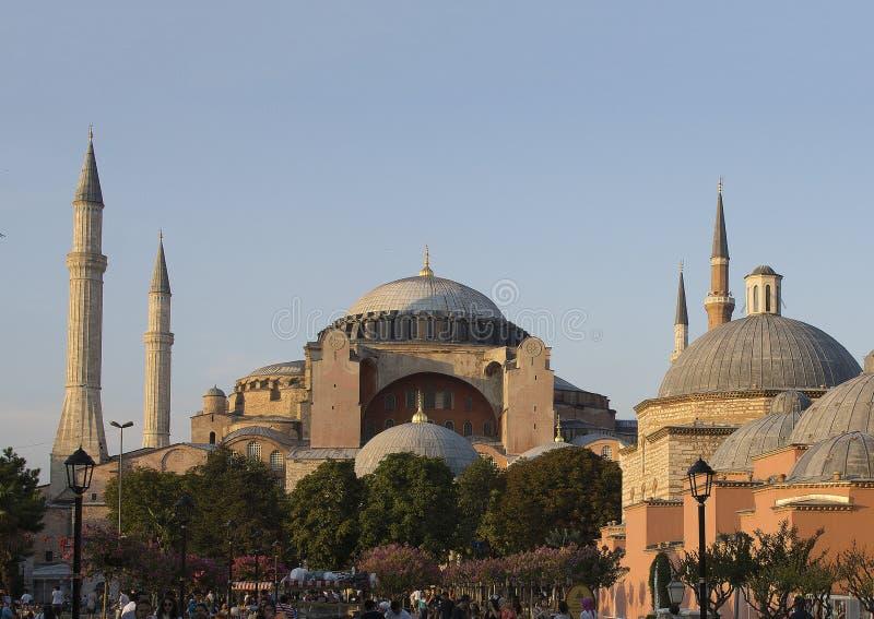 O Hagia Sophia, Istambul imagens de stock