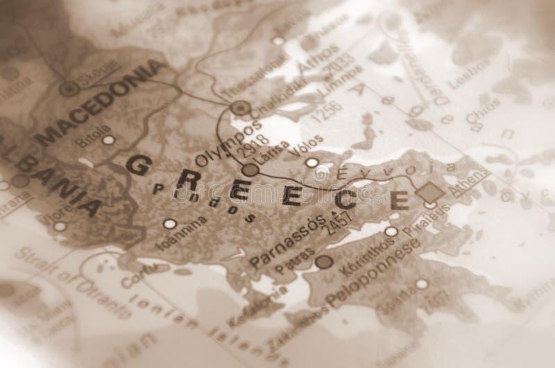 O Hellenic Republic - o Grécia imagens de stock