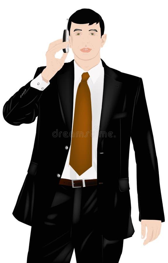 O homem de negócios ilustração stock