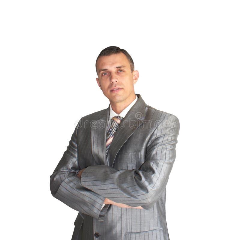 O homem de negócios moderno imagem de stock