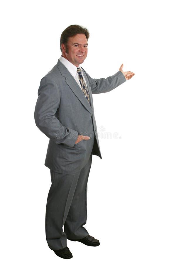 O Homem De Negócios Ou O Corretor De Imóveis Terminam 4 Fotografia de Stock Royalty Free