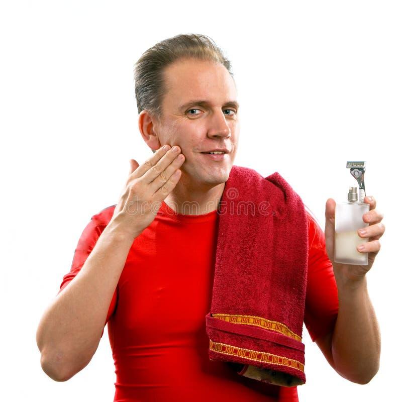 O homem well-groomed foto de stock