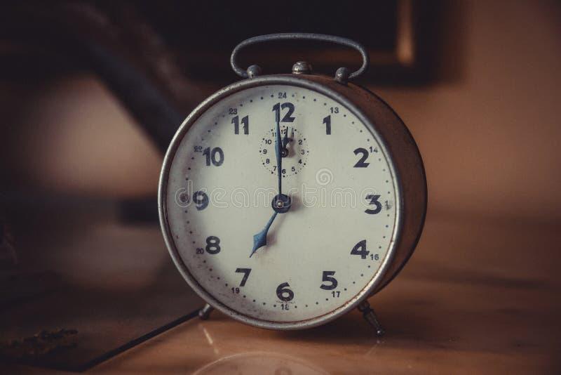 7 O& x27 ; Horloge image libre de droits