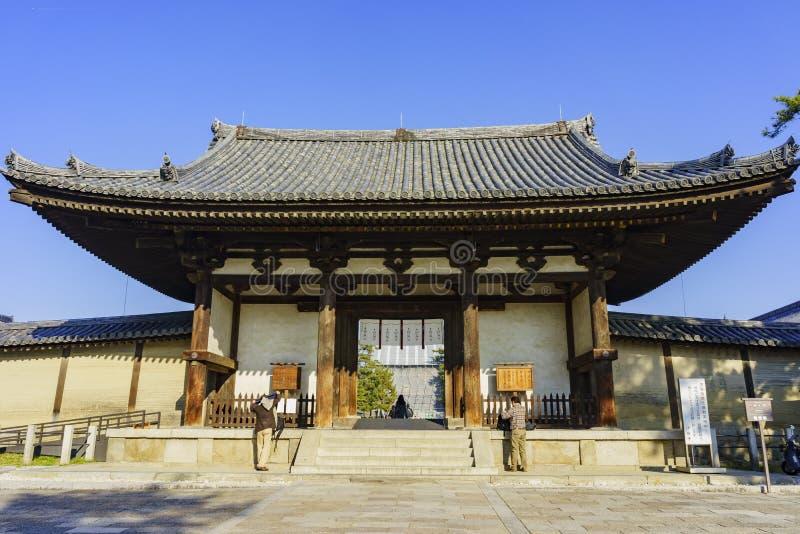 O Horyu histórico Ji fotos de stock