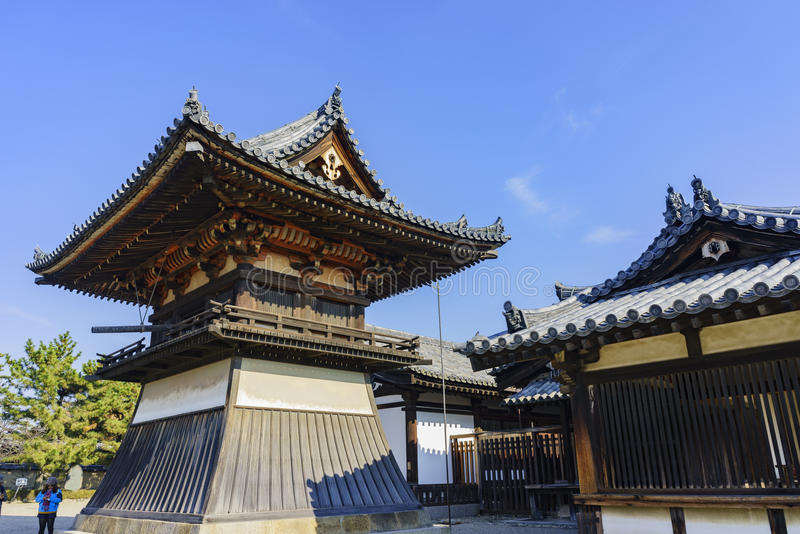 O Horyu histórico Ji foto de stock