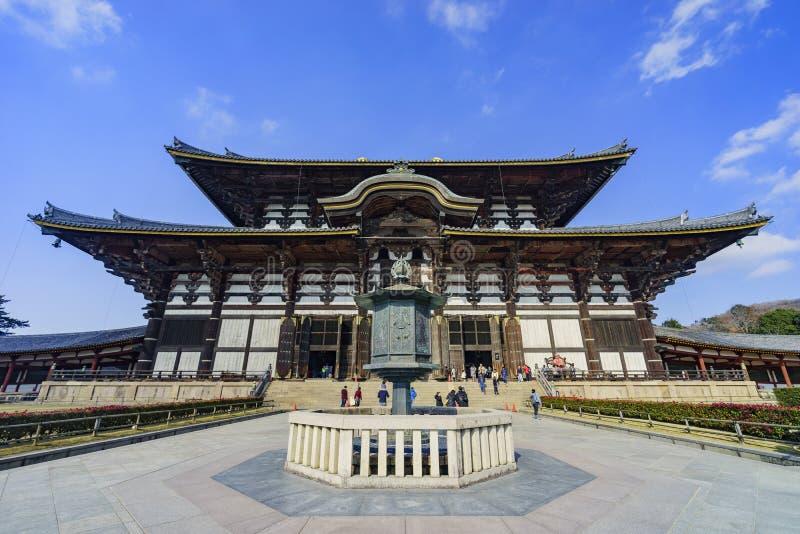 O Horyu histórico Ji imagem de stock