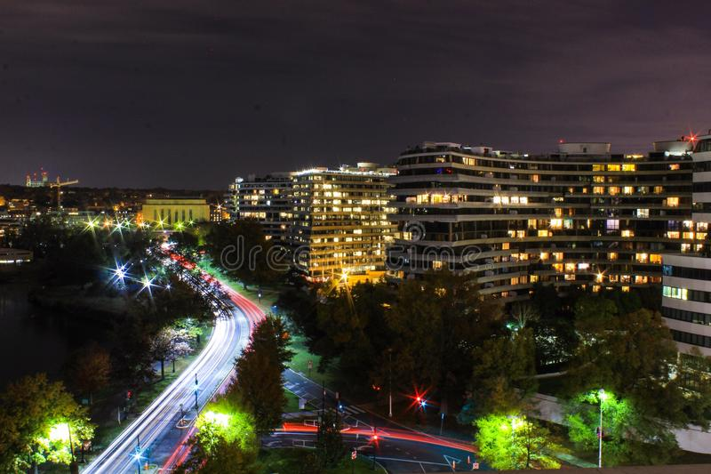 O hotel de Watergate foto de stock royalty free