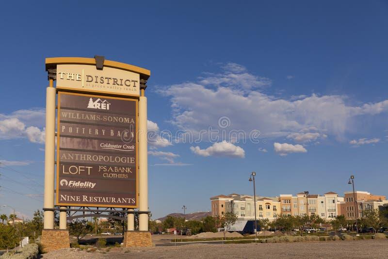 O hotel do rancho do vale verde assina dentro Las Vegas, nanovolt o 20 de agosto, 201
