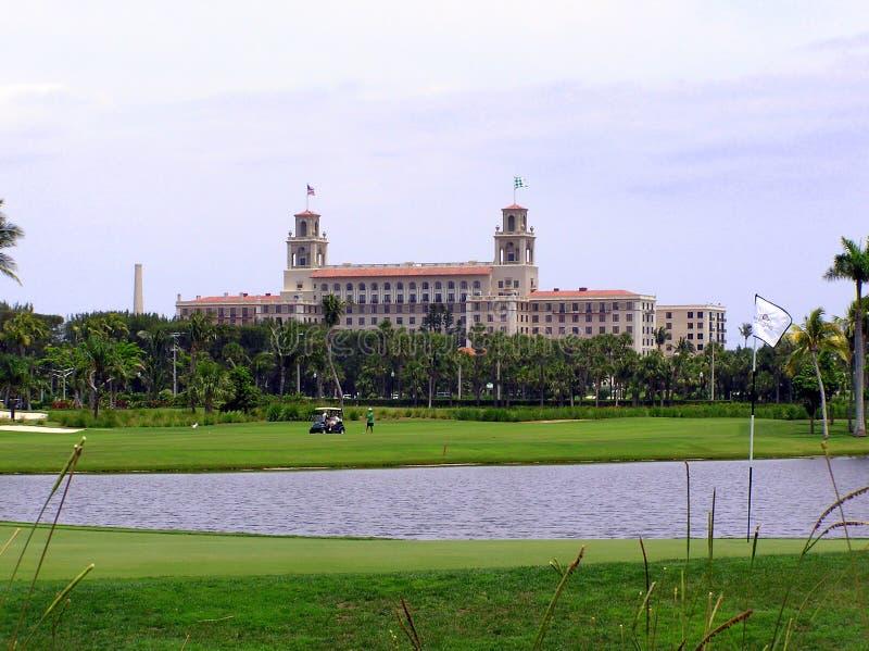 O hotel dos disjuntores e o recurso, Palm Beach, Florida foto de stock royalty free