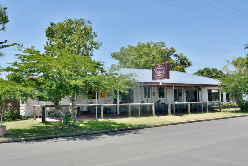 O hotel e a torta do pináculo compram na localidade do pináculo em Queensland fotografia de stock royalty free