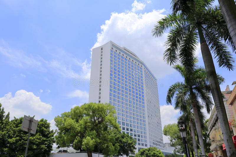 O hotel famoso do baitiane (cisne branca) fotos de stock royalty free