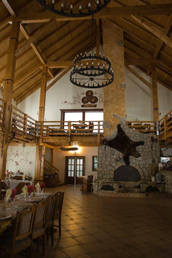 O hotel pequeno imagens de stock royalty free