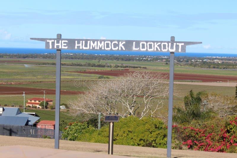 O Hummock Lookout imagens de stock royalty free