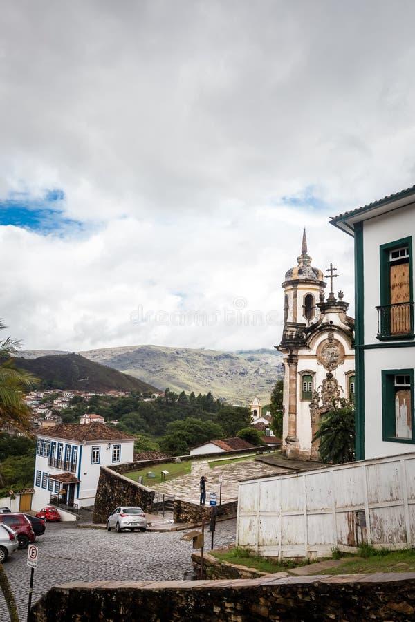 O Igreja de Sao Francisco de Assis foto de stock royalty free