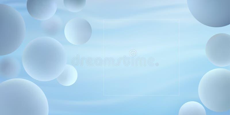 O inclinação na moda da cor clara dá forma à composição ilustração do vetor