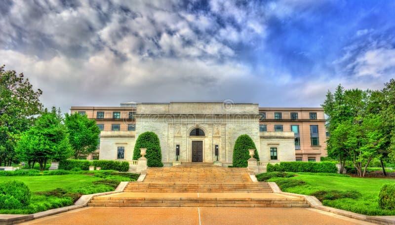 O instituto americano da construção da farmácia em Washington, D C imagem de stock royalty free