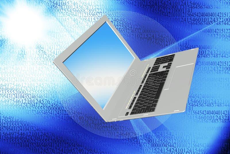 O Internet da tecnologia ilustração royalty free