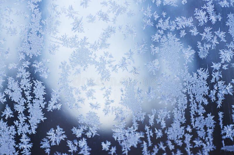 O inverno congelou o fundo fotografia de stock royalty free
