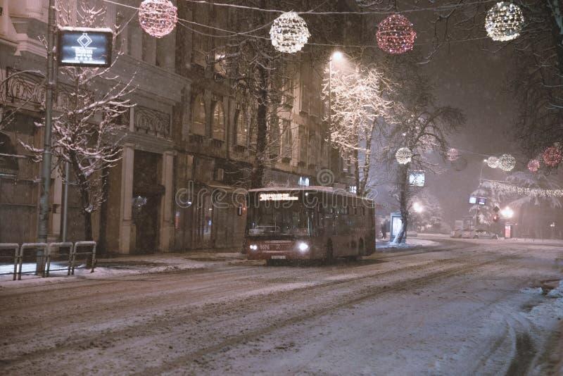 O inverno está vindo foto de stock