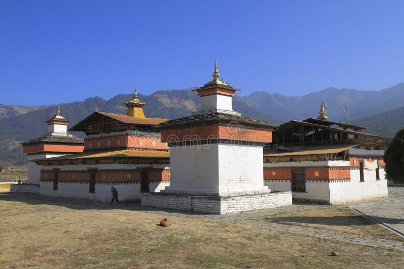O Jambay Lhakhang fotos de stock