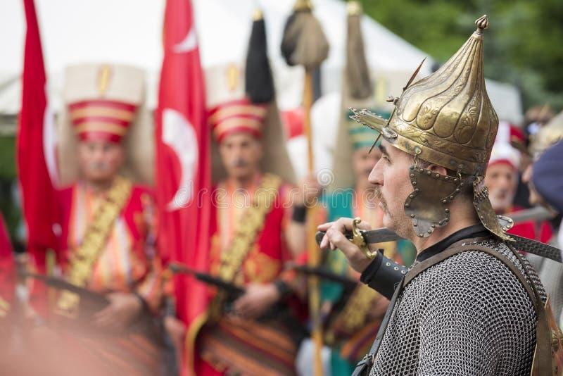 O Janissary imagens de stock royalty free