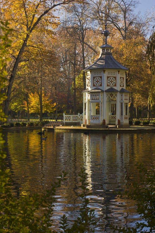 O Jardim Aranjez do príncipe, Espanha imagens de stock royalty free