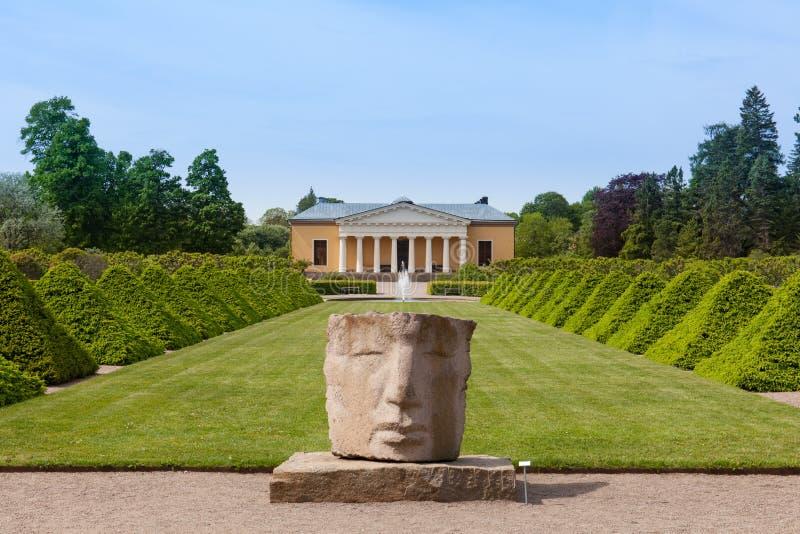 O jardim botânico de Upsália imagem de stock royalty free