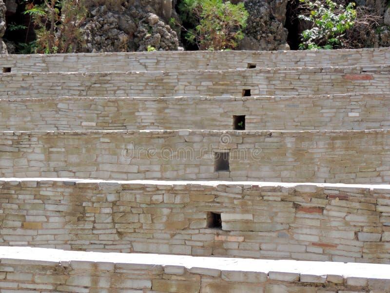 O jardim de rocha de Chandigarh, Índia imagem de stock royalty free