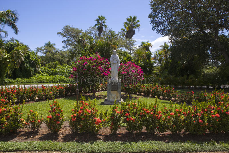 O jardim de St John imagens de stock