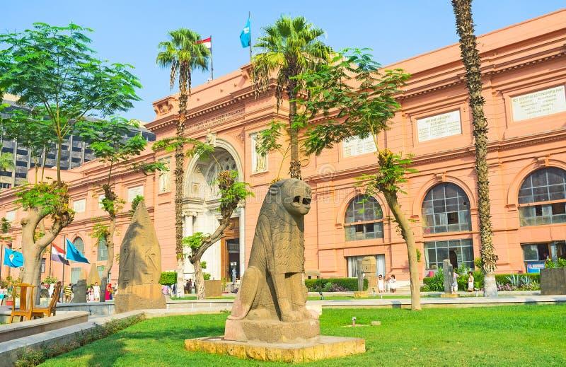 O jardim do museu imagem de stock royalty free