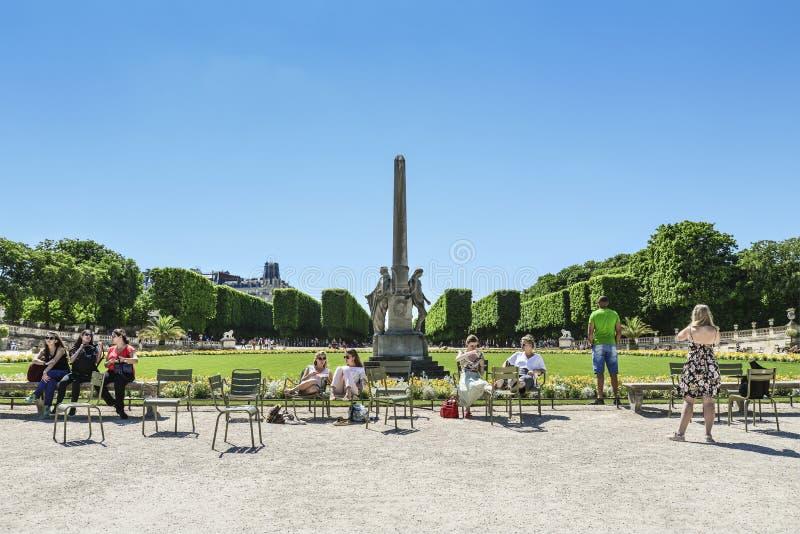 O Jardin du Luxemburgo fotografia de stock royalty free