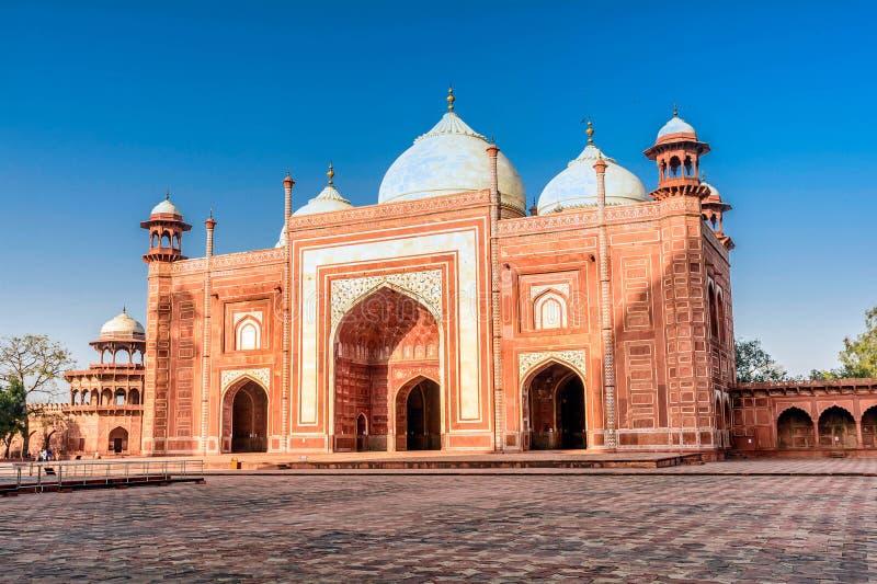 O Jawab Taj Mahal Agra, Uttar Pradesh imagem de stock