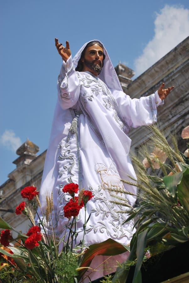 O Jesus resurrected fotos de stock royalty free