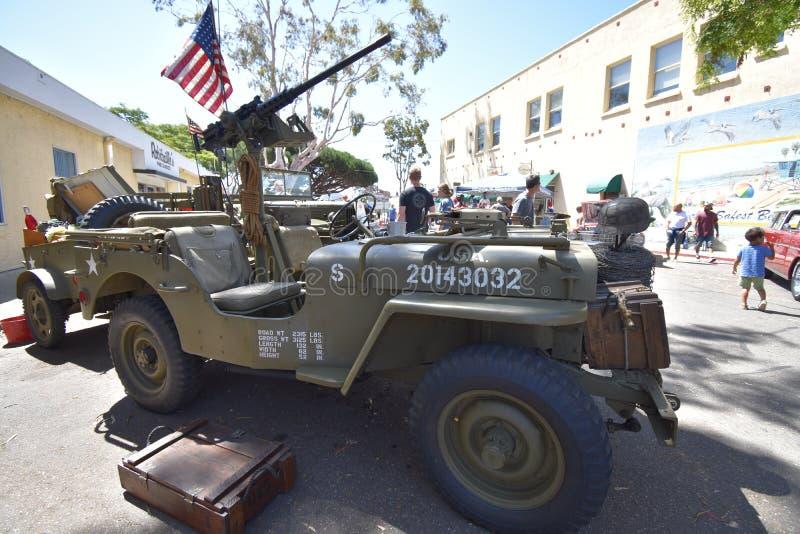 O jipe muito icônico de WW2, 4 fotografia de stock