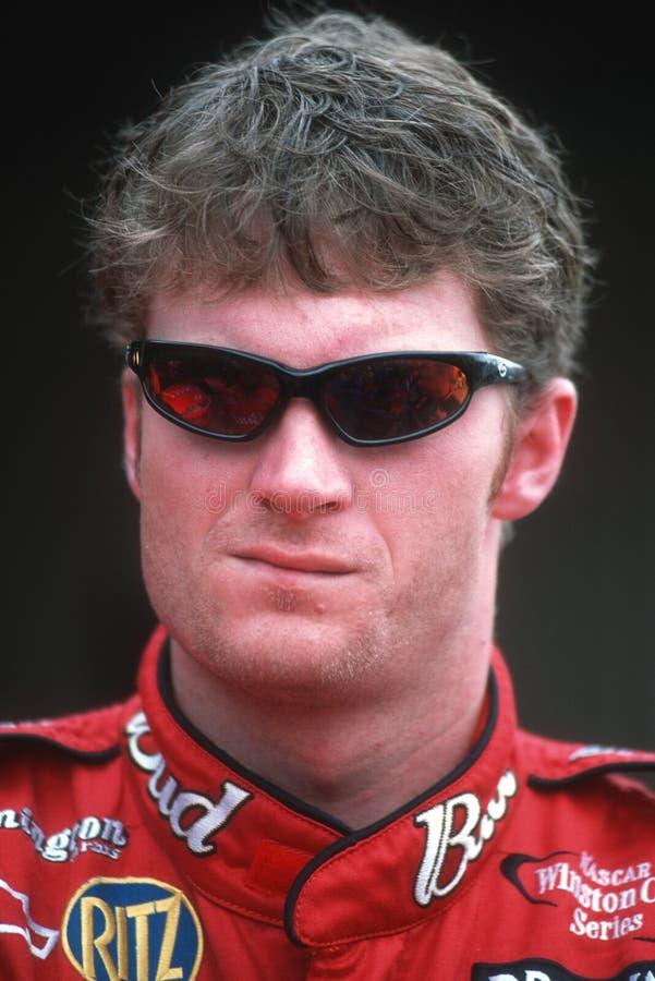 O Jr Motorista de NASCAR fotografia de stock royalty free