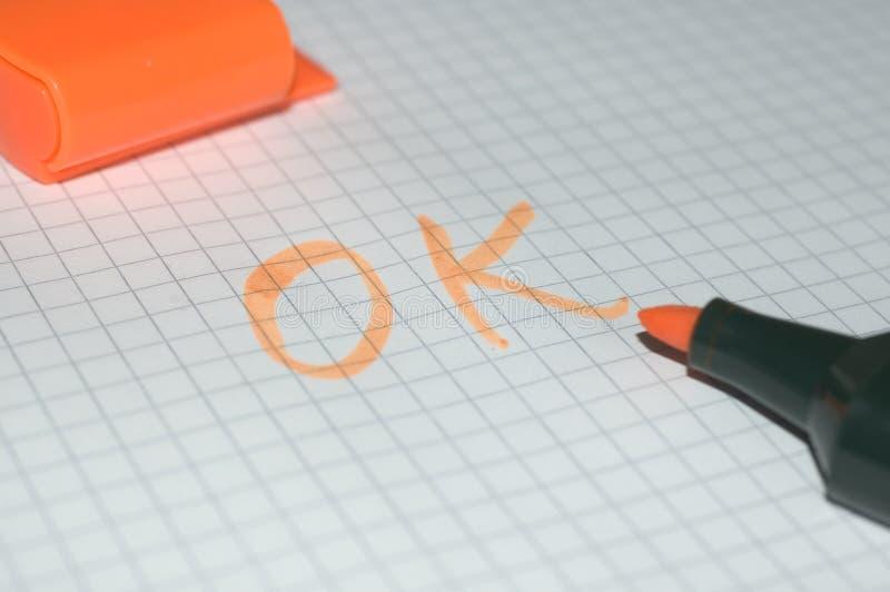 O.K. Stockbild