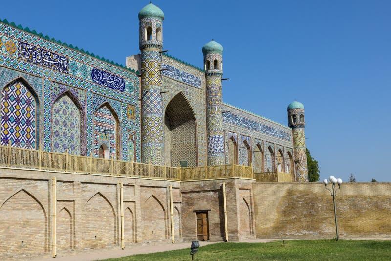 O Khudayar Khan Palace é os marcos os mais populares de Fergan fotografia de stock royalty free