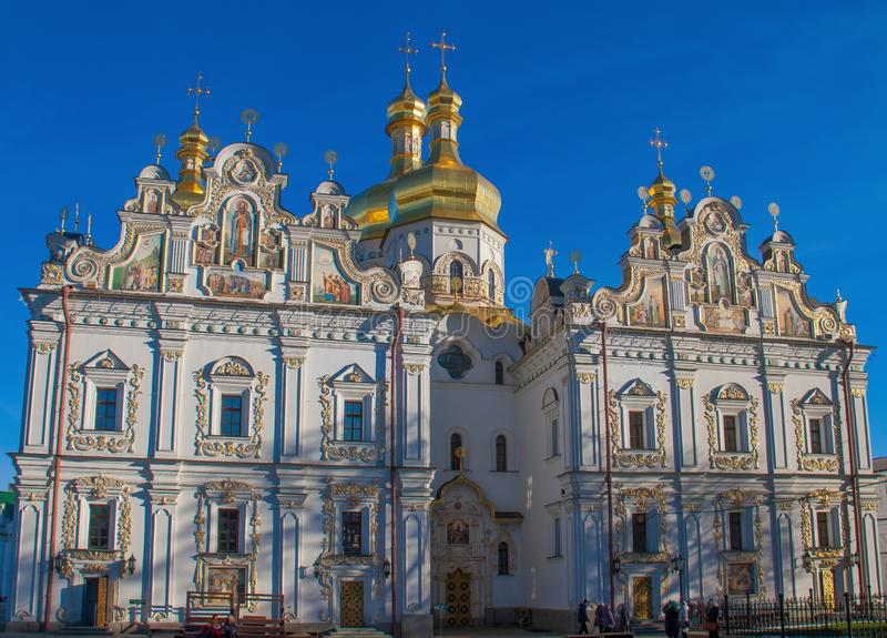 O Kiev Pechersk Lavran, Ucrânia imagens de stock