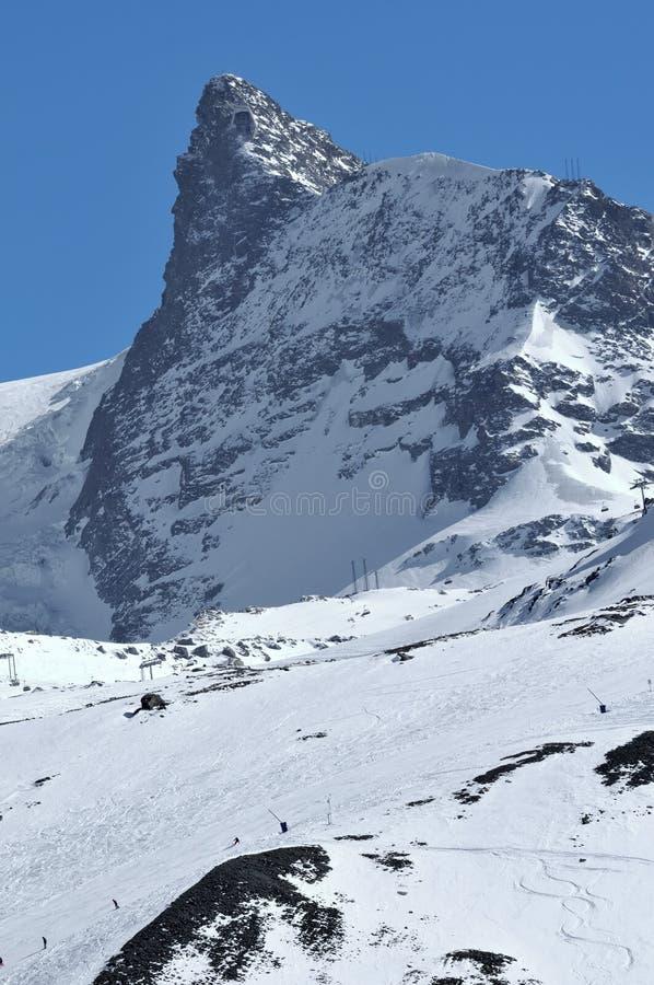 O kleiner Matterhorn foto de stock