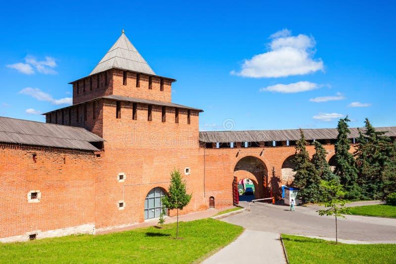 O Kremlin de Nizhny Novgorod imagens de stock royalty free