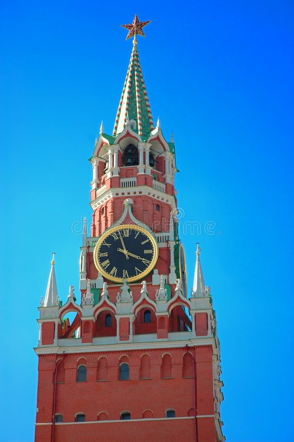 O Kremlin em Moscovo, Rússia foto de stock royalty free