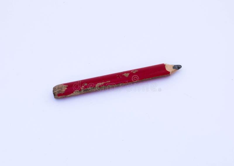 O lápis de um carpinteiro imagem de stock royalty free