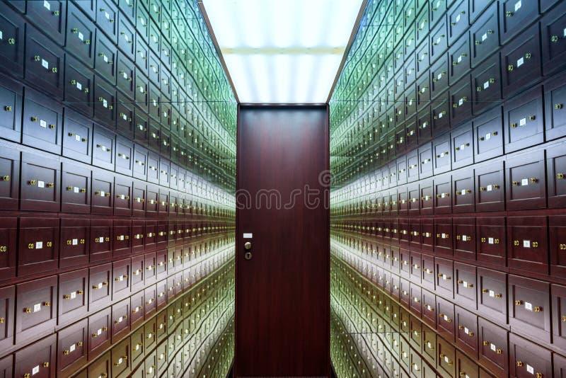 o la stanza delle illusioni r r La stanza è fotografie stock libere da diritti