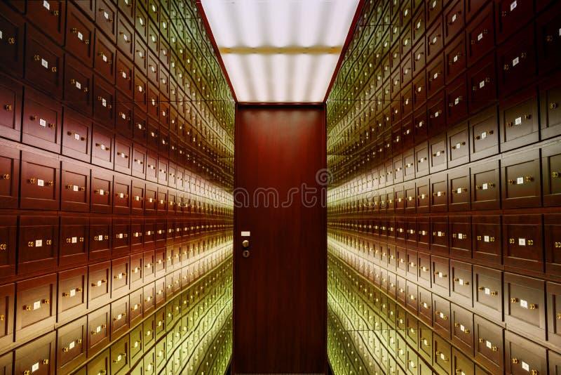 o la stanza delle illusioni r r La stanza è fotografia stock libera da diritti