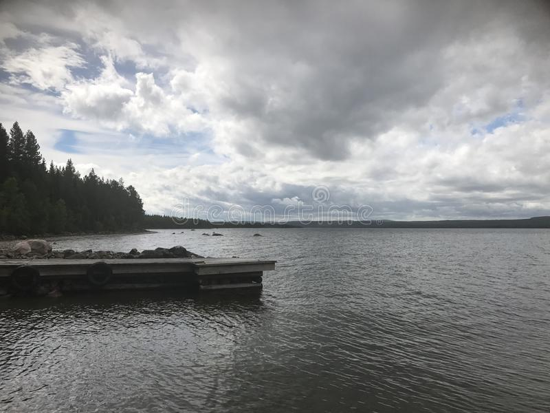 O lago fotos de stock royalty free