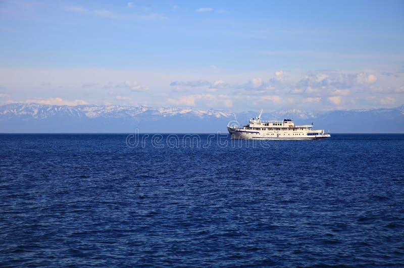 O Lago Baikal, Sib?ria R?ssia imagem de stock