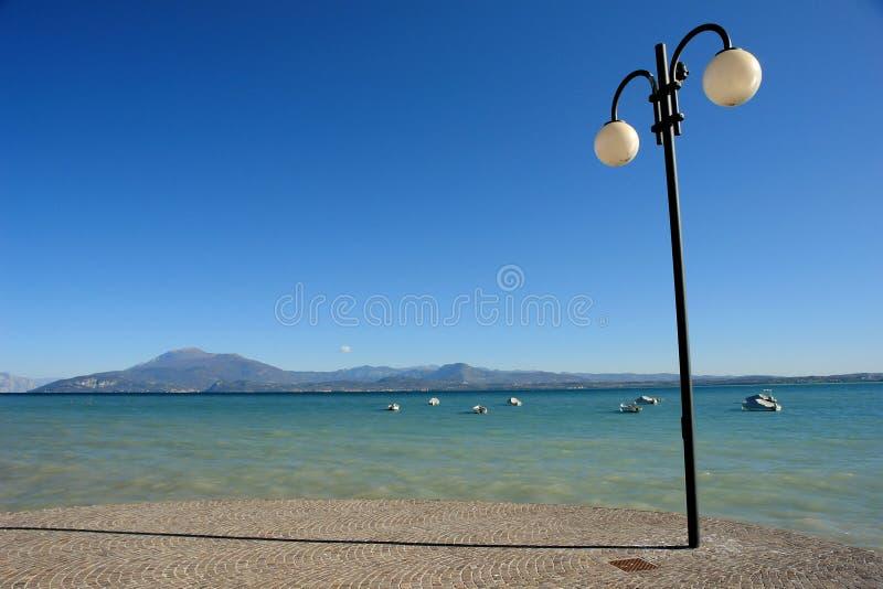 O lago de Garda fotografia de stock royalty free