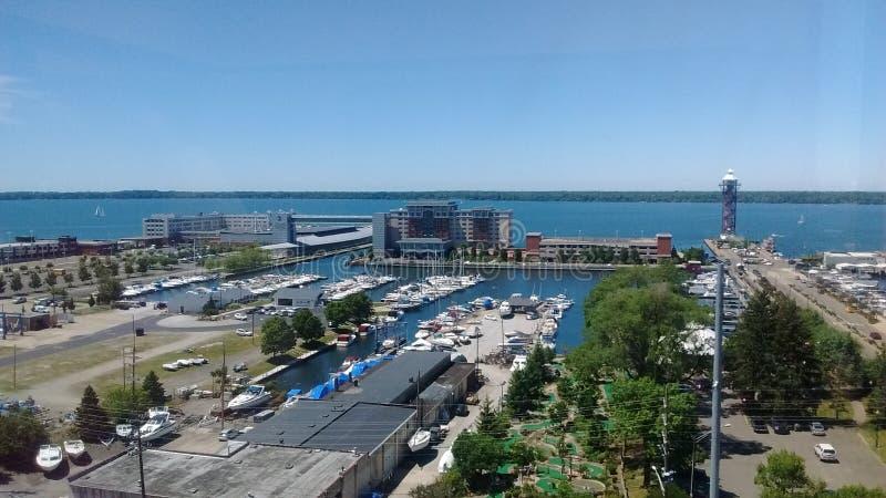 O Lago Erie foto de stock royalty free