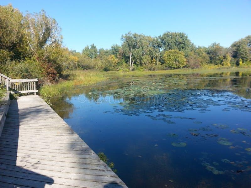 O Lago Huron imagem de stock