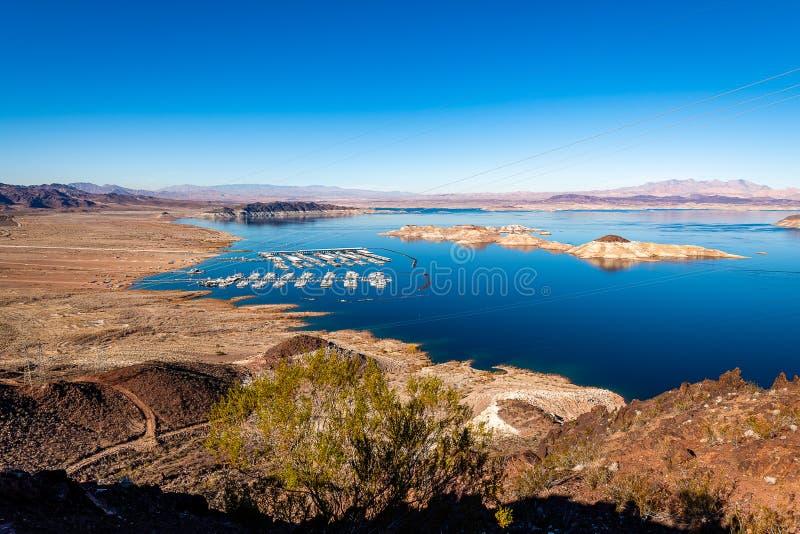 O lago Mead National Recreation Area fotografia de stock royalty free